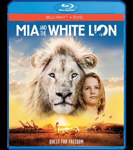 Blu-ray Review: MIA AND THE WHITE LION, Born in Captivity