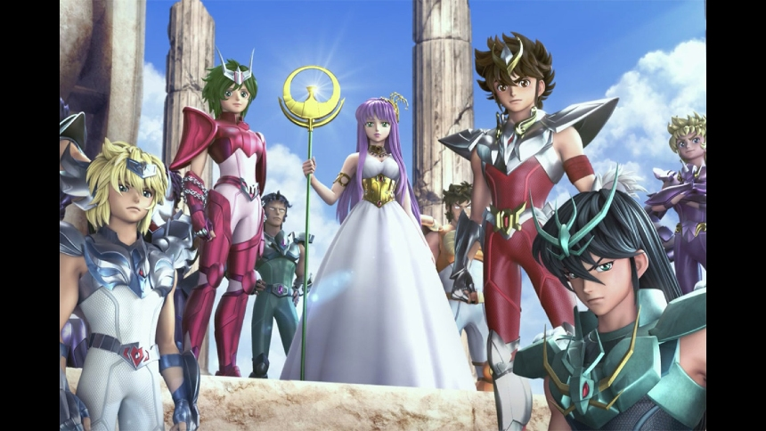 Notes on Streaming: KNIGHTS OF THE ZODIAC: SAINT SEIYA, Shout and Fight