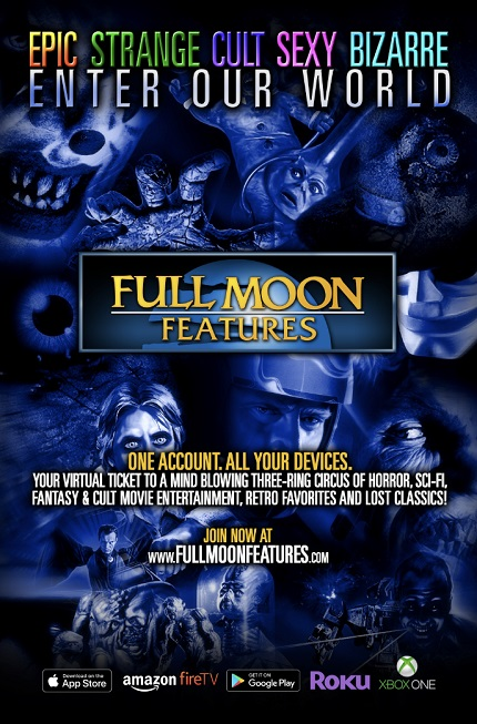 Full Moon Features Launches App, Delivering Over 500 Indie Horror Across Multiple Platforms