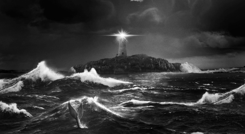 Friday One Sheet: THE LIGHTHOUSE in Glorious, Stark, Black And White