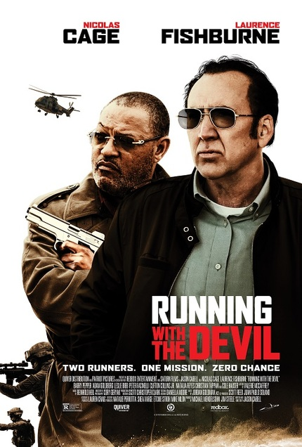 RUNNING WITH THE DEVIL Trailer: Fishburne And Cage Run Some Drugs in Upcoming Thriller