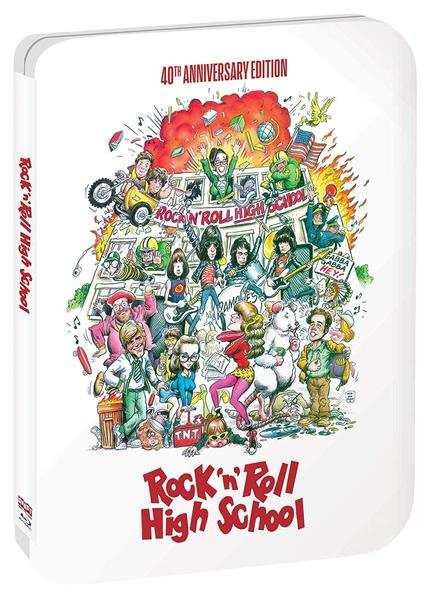 ROCK 'N' ROLL HIGH SCHOOL Gets 40th Anniversary Upgrade From Shout! Factory This November