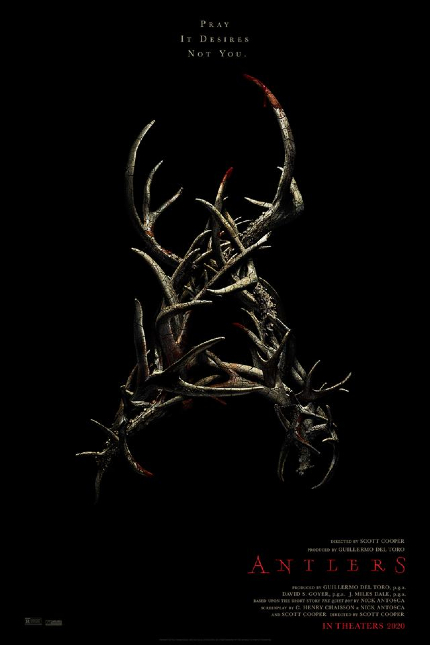 ANTLERS Teaser Scares Up a Monster in the Dark