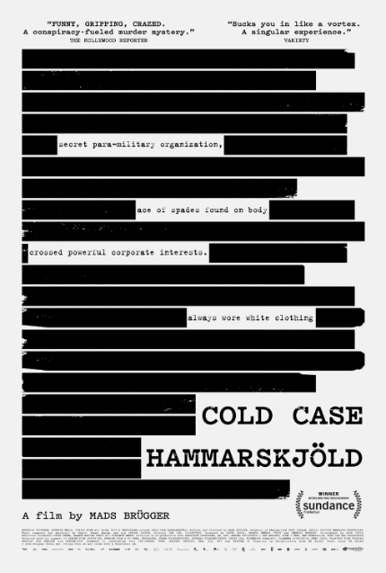 Review: COLD CASE HAMMARSKJÖLD, Pretzels of Truth and Performance Art