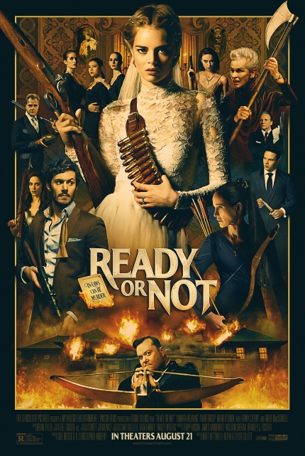 Now in Theaters: READY OR NOT, Samara Weaving Is a Star