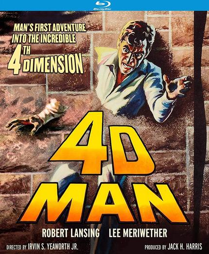 Kino Lorber Blu-ray Roundup: 4D MAN, DINOSAURS, THEY MIGHT BE GIANTS and More