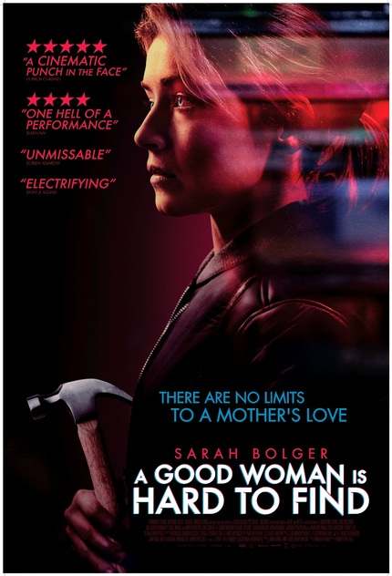 Screamfest 2019 Exclusive: A GOOD WOMAN IS HARD TO FIND Poster Reveals a Determined Sarah Bolger