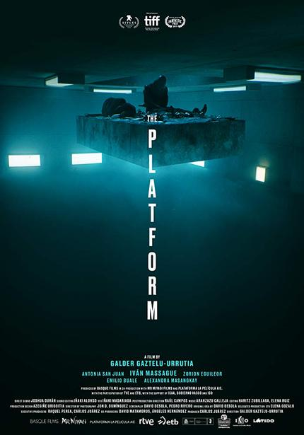 THE PLATFORM Trailer: Stunning Design Meets Searing Political Commentary in this Spanish Dystopian Thiller