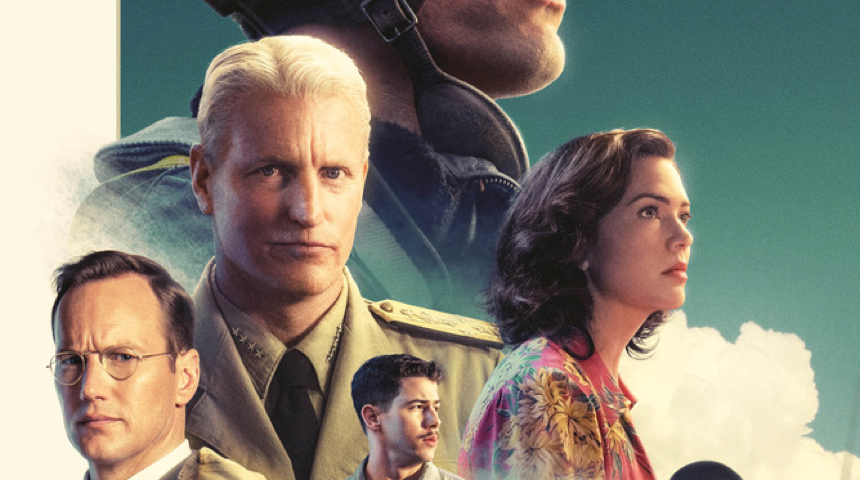 Friday One Sheet:  MIDWAY, Woody Harrelson is Not Impressed