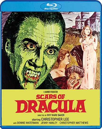 Blu-ray Review: SCARS OF DRACULA Spooks and Shocks