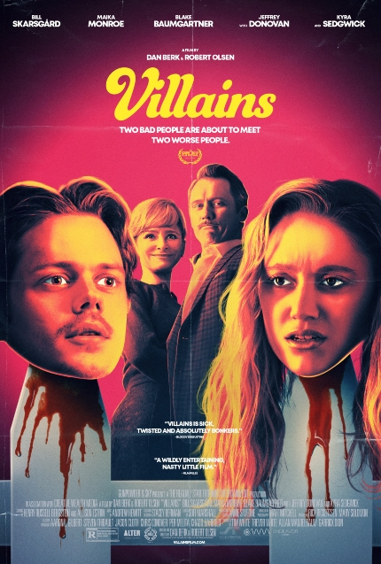 Review: VILLAINS, Crackerjack Comedy With Dark Edgings