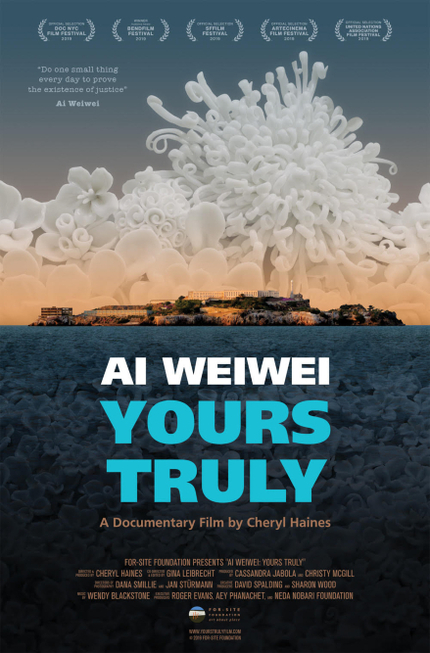 DOC NYC 2019 Exclusive Trailer Premiere: AI WEIWEI: YOURS TRULY