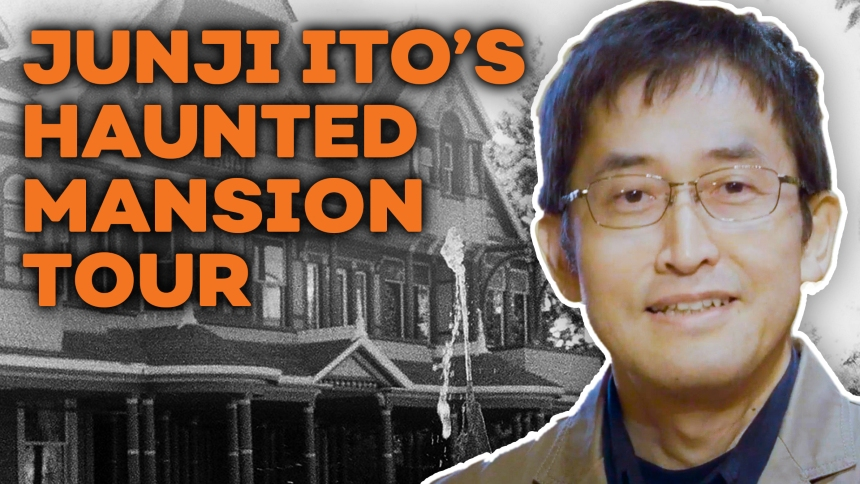 Haunted Horror Never Ends: Ito Junji Tours the Winchester House