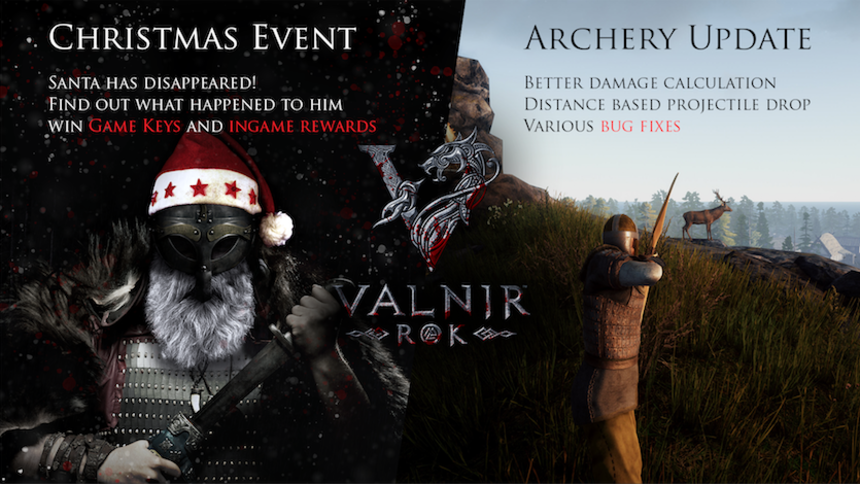Holiday Season Event:  Find and rescue Santa in the world of Valnir Rok - Game codes for free!