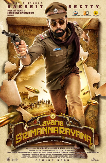 Trailer: AVANE SRIMANNARAYANA, Rakshit Shetty's Upcoming Curry Western Looks Insane