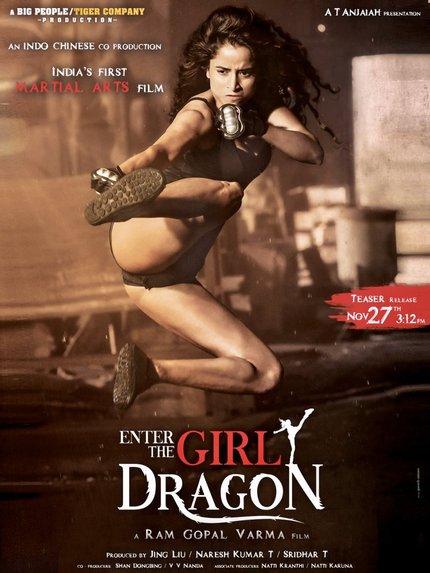 Trailer: Ram Gopal Varma's ENTER THE GIRL DRAGON Introduces A New High Kicking Heroine
