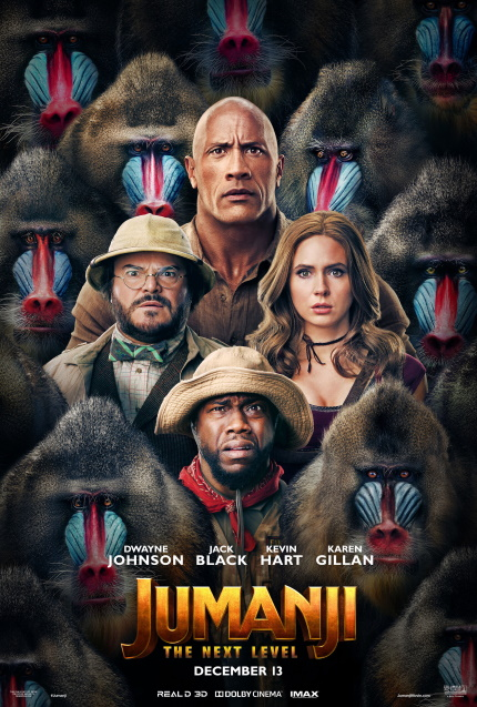 Review: JUMANJI: THE NEXT LEVEL, New Adventures Await Old Heroes In This Satisfying Sequel