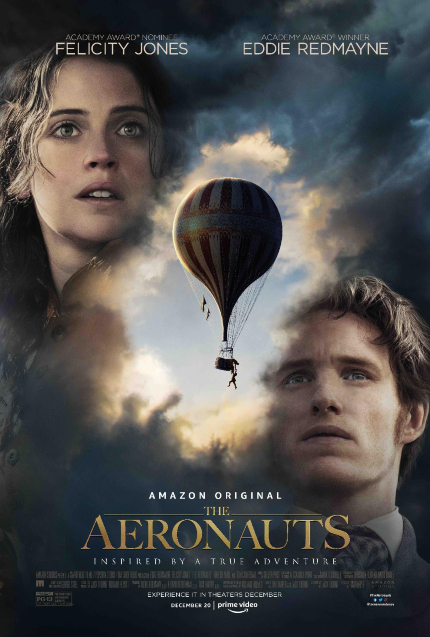 Review: THE AERONAUTS, Come Fly with Felicity and Eddie