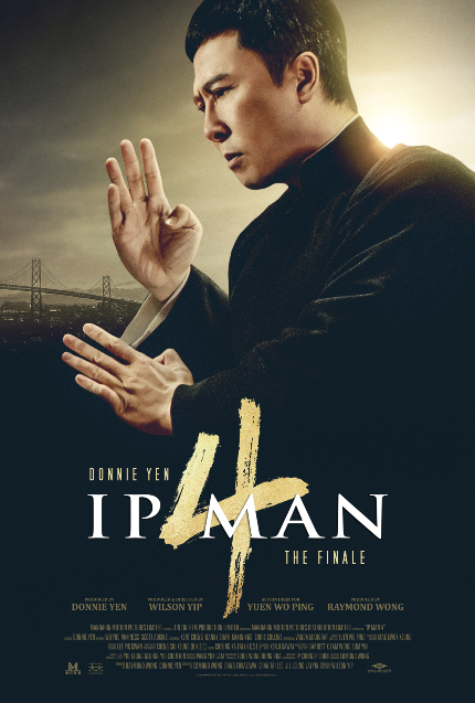 IP MAN 4: THE FINALE Trailer: Donnie Yen Comes to America