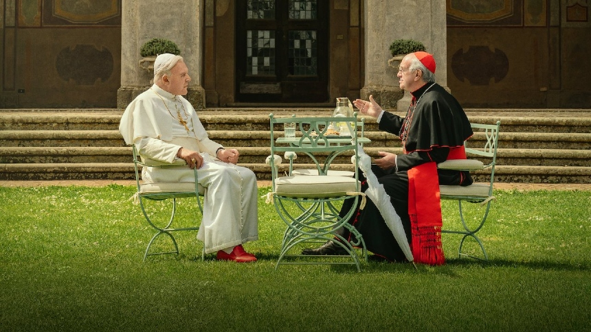Now Streaming: THE TWO POPES Jockey For Position
