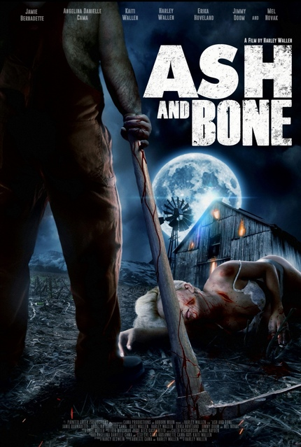 New Poster for Harley Wallen's Ash and Bone Starring Jamie Bernadette and Mel Novak
