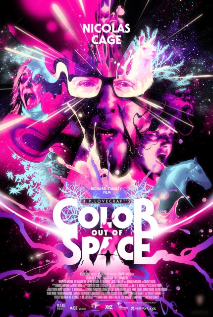 Review: COLOR OUT OF SPACE, Love Will Tear Us Apart