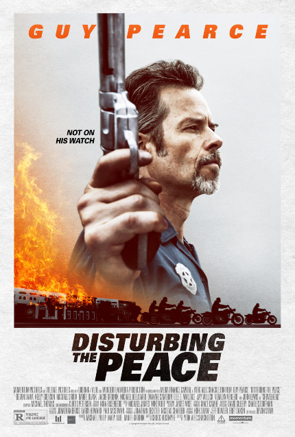 Now on Home Video: In DISTURBING THE PEACE, Guy Pearce Picks Up His Gun Again
