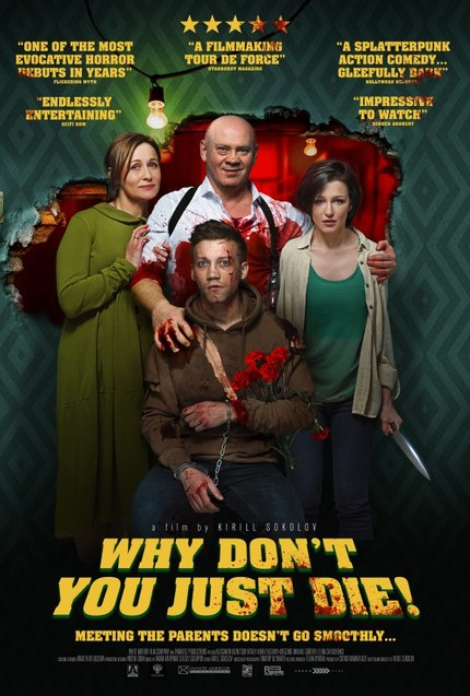 Trailer: Wild Russian Action Thriller WHY DON'T YOU JUST DIE! Heading To US Theaters April 10th