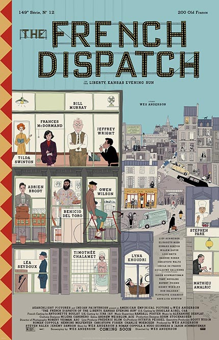 THE FRENCH DISPATCH Trailer: Immensely Charming, Definitive Wes Anderson