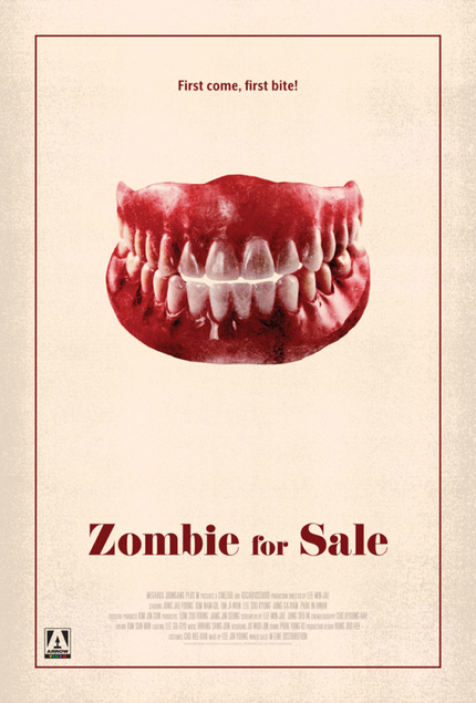 Glasgow 2020: Arrow Video Drops New ZOMBIE FOR SALE Poster Ahead Of 7th March Screening