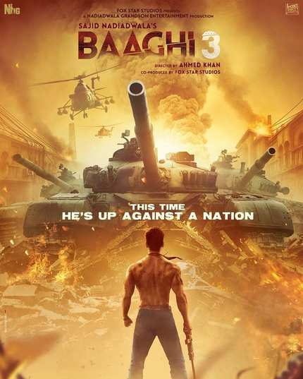 Trailer: Tiger Shroff Dance-Fights An Entire Nation In BAAGHI 3