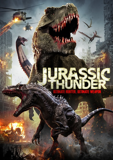 JURASSIC THUNDER Trailer: Dinosaurs With Guns. What Else do You Need to Know?
