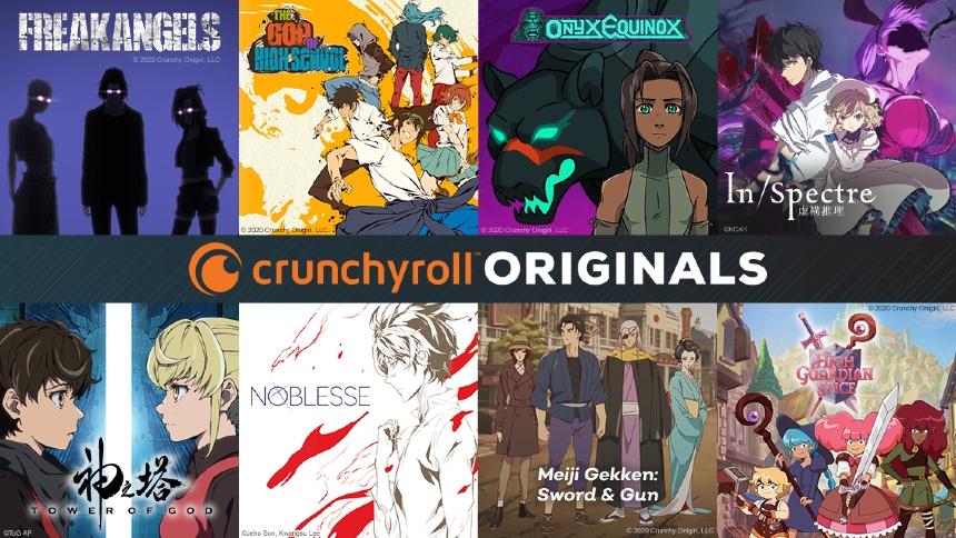 Crunchyroll Unveils More Original Anime Series