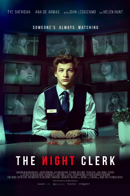 Review: THE NIGHT CLERK, A Gimmick-Heavy Neo-Noir