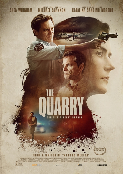Watch Combustible THE QUARRY Trailer: Shea Whigham, Michael Shannon, Trouble