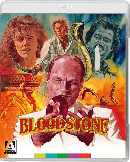 Exclusive Trailer Premiere: Rajinikanth & Brett Stimely Hunt For The Rare BLOODSTONE, Coming Soon From Arrow Video
