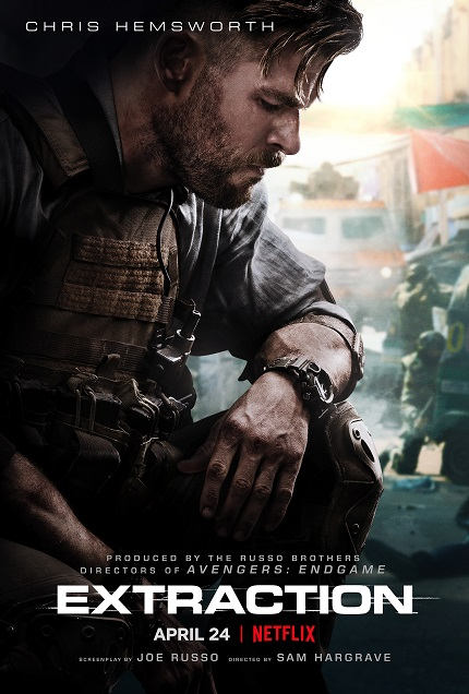 EXTRACTION Trailer: Chris Hemsworth Stars in Action Flick From The Russo Brothers on Netflix End of April