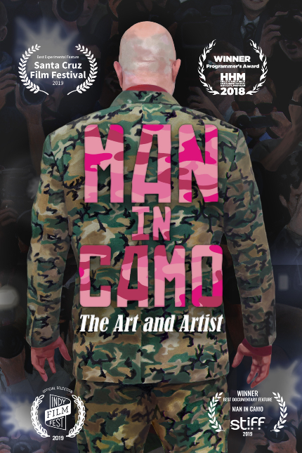 MAN IN CAMO Trailer Celebrates An Indie Artist and a Strange Process