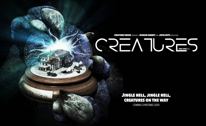 CREATURES: Tony Jopia's UK Horror Comedy Coming This Christmas