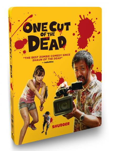 ONE CUT OF THE DEAD: Coming to DVD And DVD/Blu-ray SteelBook on June 2nd