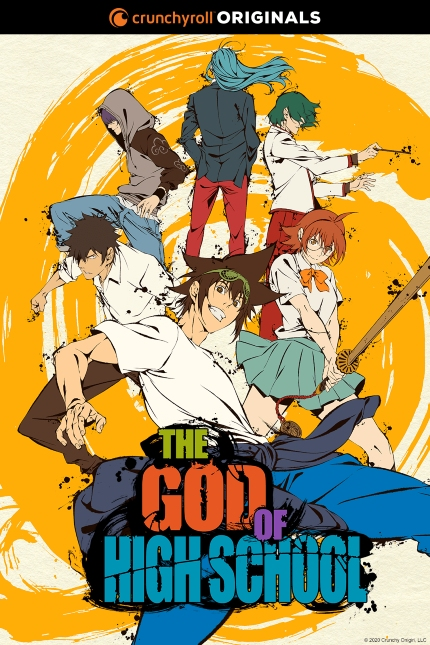 Now Streaming: THE GOD OF HIGH SCHOOL, Kicking People in the Face