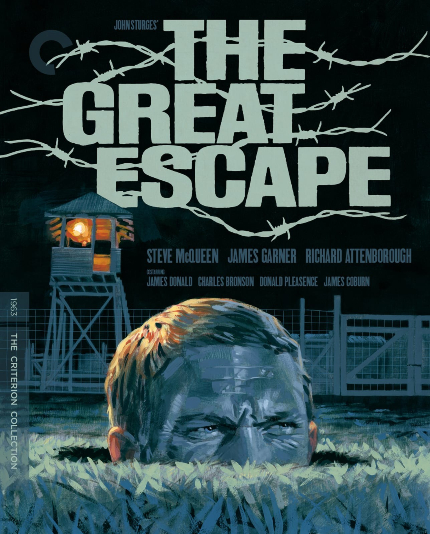 Now on Blu-ray: THE GREAT ESCAPE, Tight Spaces, Ripping Adventures