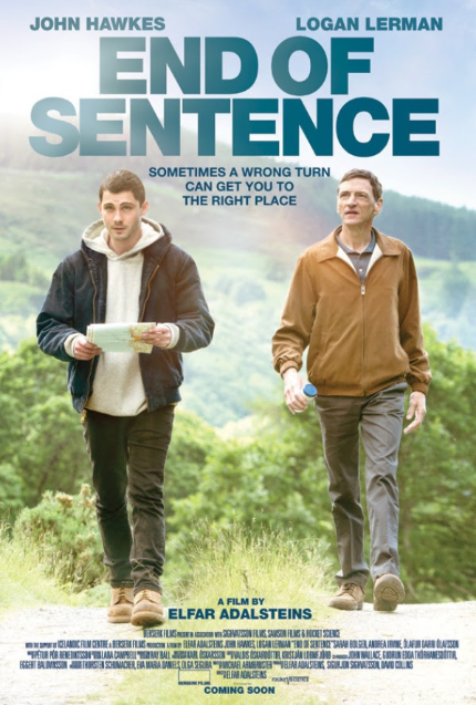 Now on VOD: Logan Lerman, John Hawkes in END OF SENTENCE
