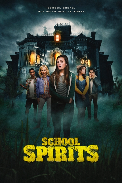 SCHOOL SPIRITS Trailer: Silly Turns to Spooky