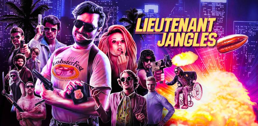 LIEUTENANT JANGLES: Aussie Action Crime Satire Out Now on Blu-ray And VHS
