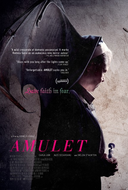 AMULET Trailer Quickly Gets Dark and Freaky