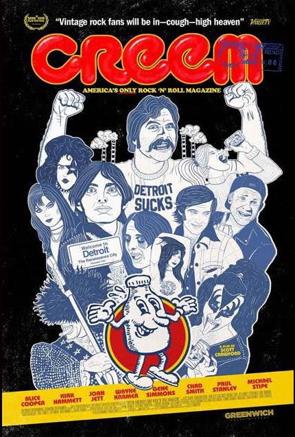 CREEM: AMERICA'S ONLY ROCK N' ROLL MAGAZINE Trailer Rocks, Of Course