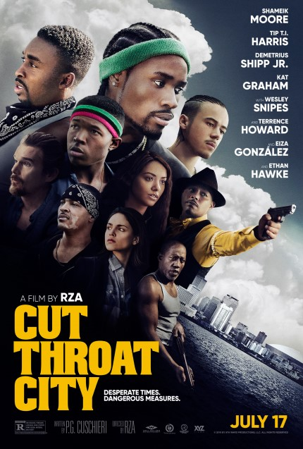 CUT THROAT CITY Gets New Release Date