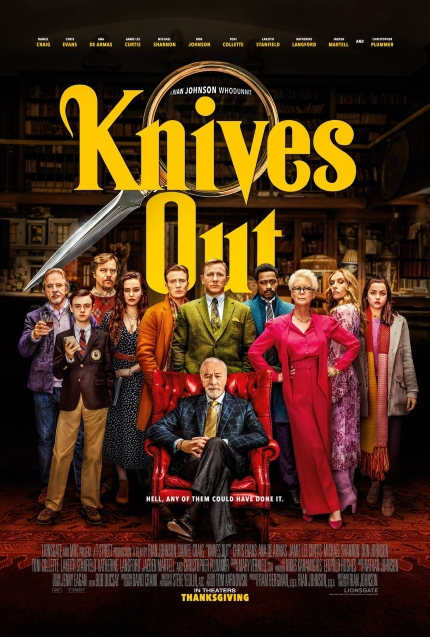 Now Streaming: KNIVES OUT, Twists and Turns Abound in Delightful Whodunit