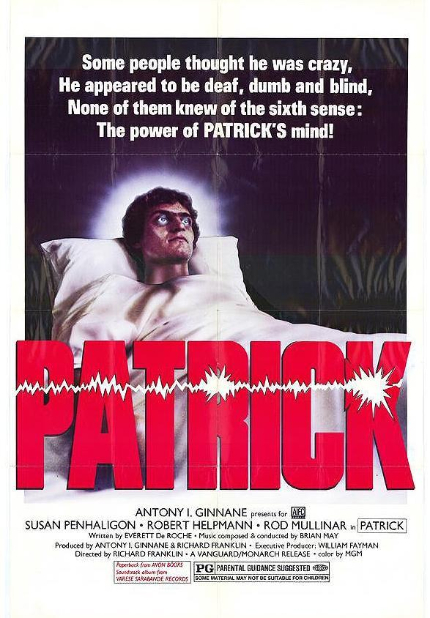 Now Streaming: PATRICK, It's All in the Eyes